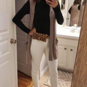 Handbags - Leopard Faux Leather Waist Fanny Belt Pack Bag